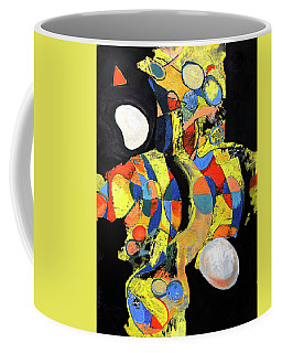 Coffee Mug featuring the painting Sir Future by Mark Jordan