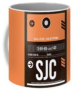 Sjc San Jose Luggage Tag II Coffee Mug