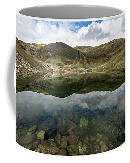 Coffee Mug featuring the photograph Skarsvotni, Norway by Andreas Levi