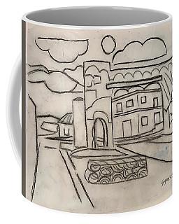 Sketch Of Arch Laguna Del Sol Coffee Mug