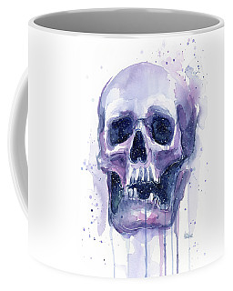 Skull In Space Coffee Mug