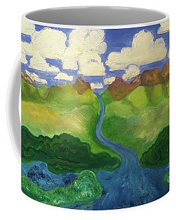 Sky River To Sea Coffee Mug