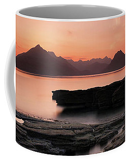 Coffee Mug featuring the photograph Skye Sunset by Grant Glendinning
