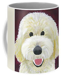 Coffee Mug featuring the painting Skyler by Suzy Mandel-Canter