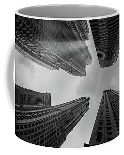 Skyscrapers Reach The Heaven Coffee Mug