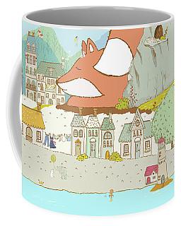 The Sleeping Fox Coffee Mug