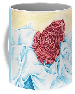 Sleeping Rose Coffee Mug