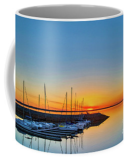 Sleeping Yachts Coffee Mug