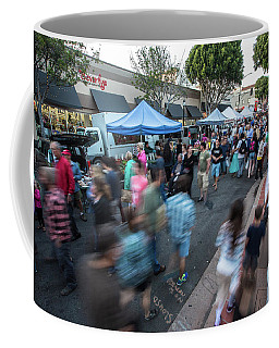 Coffee Mug featuring the photograph S L O   Farmers Market by Mike Long
