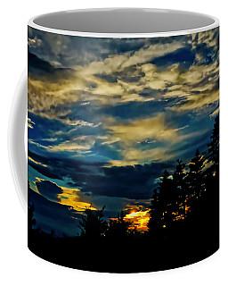 Coffee Mug featuring the photograph Small Sunset by Meta Gatschenberger