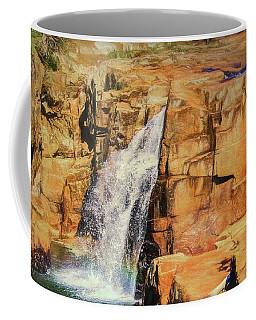 Small Waterfall In Adirondack Park. Coffee Mug
