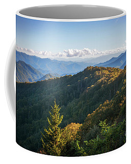 Coffee Mug featuring the photograph Smoky Mountains by Sharon Seaward