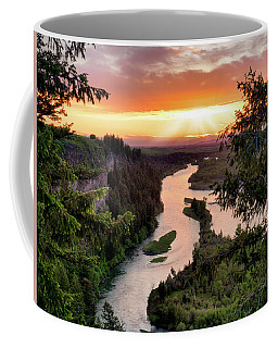 Snake River Sunset Coffee Mug