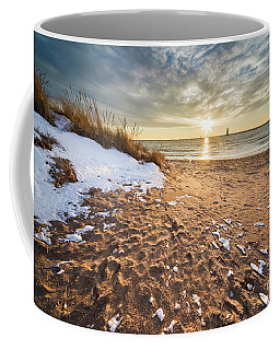 Snow And Sand In Frankfort Coffee Mug