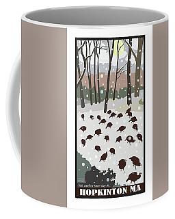 Snow Day In Hopkinton Coffee Mug