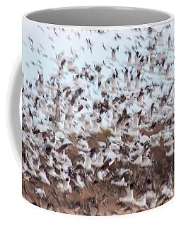 Snow Geese Chaos Coffee Mug