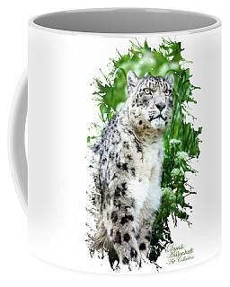 Snow Leopard, Leopard Art, Animal Decor, Nursery Decor, Game Room Decor,  Coffee Mug