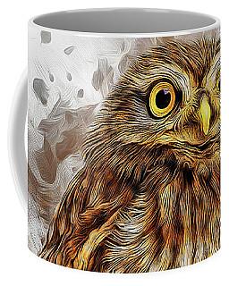 Snow Owl Coffee Mug