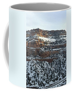 Snow Steps Coffee Mug