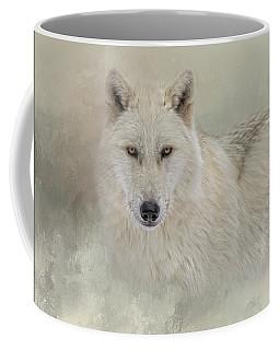 Snow Wolf Coffee Mug