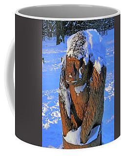 Snowy Gorilla Coffee Mug