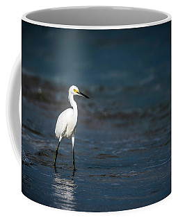 Snowy In The Surf Coffee Mug