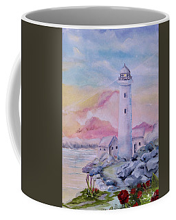 Soft Lighthouse Coffee Mug