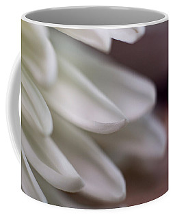 Soft White Petals-1 Coffee Mug
