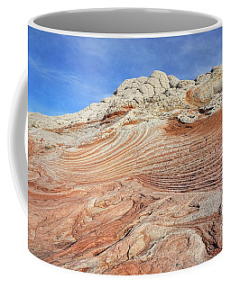 Solid Waves Pano Coffee Mug