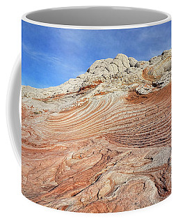 Solid Waves Pano Coffee Mug