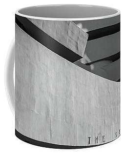 Coffee Mug featuring the photograph Solomon R Guggenheim Museum by Michael Hope