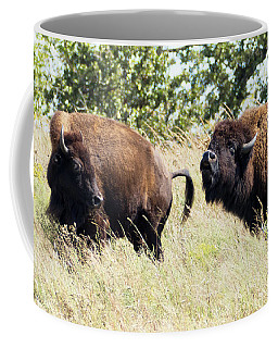 Coffee Mug featuring the photograph Something Is In The Wind by Sally Sperry