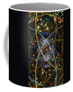 Coffee Mug featuring the digital art Sourcerer by Kenneth Armand Johnson