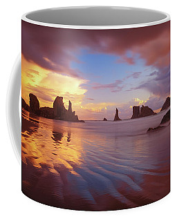 Coffee Mug featuring the photograph South Coast Sunset by Darren White