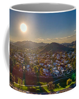 South Mountain Sunset Coffee Mug