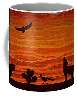 Southwest Desert Silhouette Coffee Mug