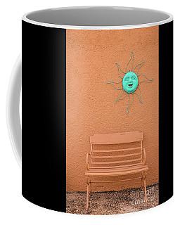Southwestern Bench  Coffee Mug