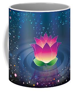 Space Lotus Coffee Mug