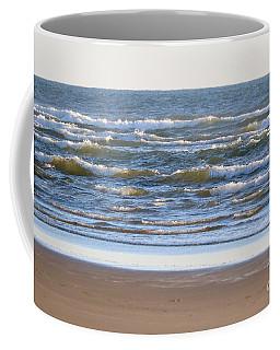 Sparkling Waves With Beach Coffee Mug