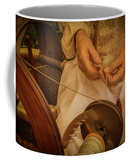 Coffee Mug featuring the photograph Spinner by Guy Whiteley