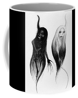 Spirits Of The Twin Sisters - Artwork Coffee Mug