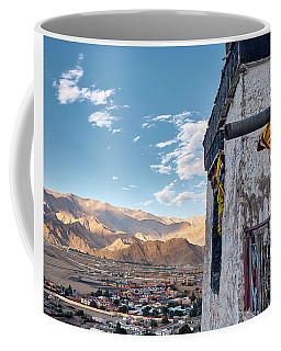 Coffee Mug featuring the photograph Spituk Gompa by Whitney Goodey