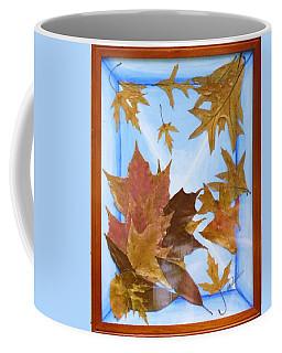 Splattered Leaves Coffee Mug