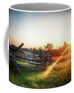 Split-rail Sunset Coffee Mug