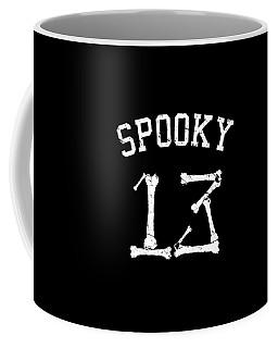 Spooky 13 Halloween Jersey Coffee Mug