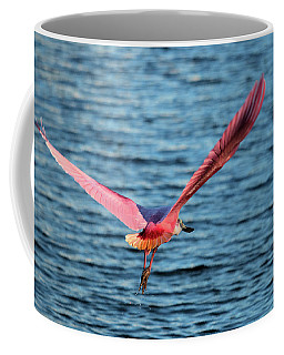 Spoonbill Wingspan Coffee Mug