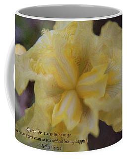 Spreading Love - Motivational Flower Art By Omaste Witkowski Coffee Mug