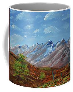 Spring Comes To Southern Arizona Coffee Mug