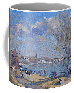 Spring In Gratwick Waterfront Park Coffee Mug