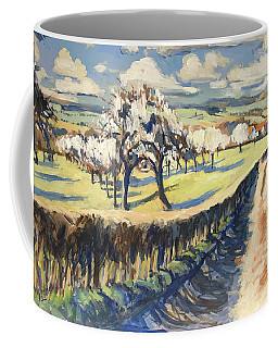 Spring In The Bellet Fruit Orchard Coffee Mug